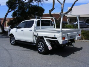 Toyota Hilux Dual Cab Flat Tray