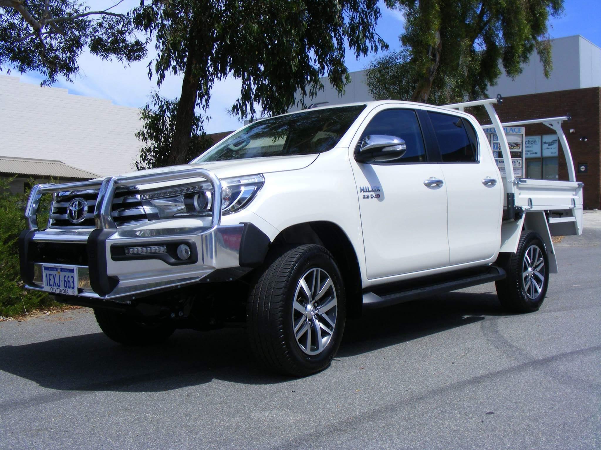 Toyota Hilux Dual Cab Flat Tray & New SR5 Toyota Hilux | Bull Motor Bodies