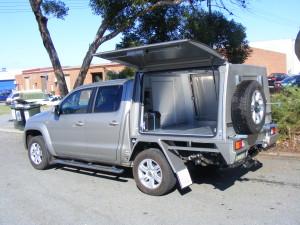 2 Door, external spare wheel carriers, battery system